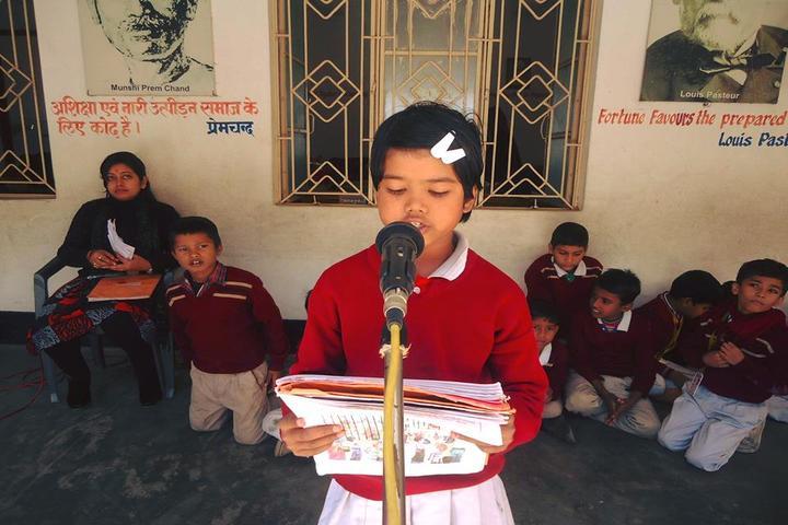 Savitri Devi D A V Public School-Speech