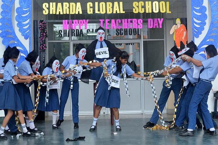 Sharda Global School-Teachers Day Celebration