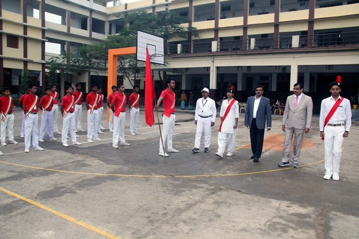 Shradhanand Bal Mandir Senior Secondary School-Welcoming the Guest