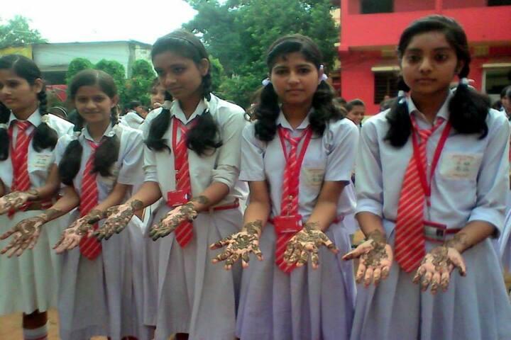 Sido Kanhu High School-Mahendhi
