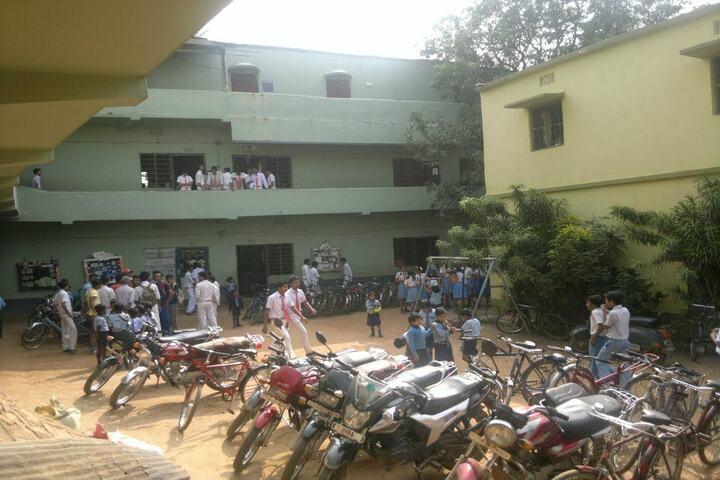 Sido Kanhu High School-Parking