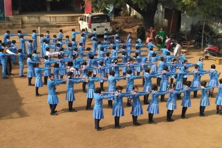 Sido Kanhu High School-Assembly