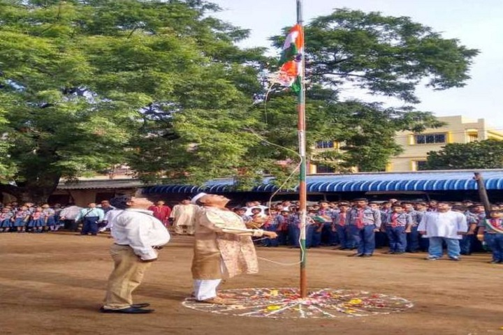 Sido Kanhu High School-Flag Hosting