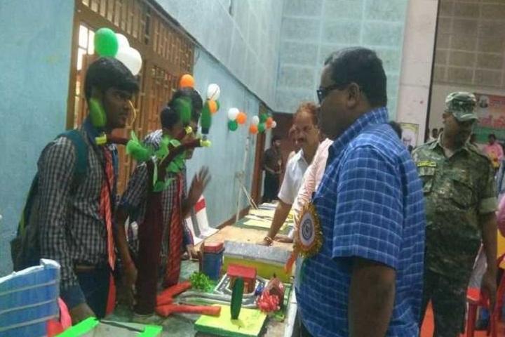 Sido Kanhu High School-School Exhibition