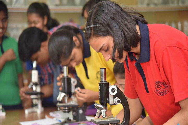 Sree Ayyappa Public School-Science Lab