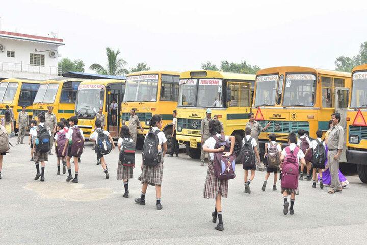 Sree Ayyappa Public School-Transport