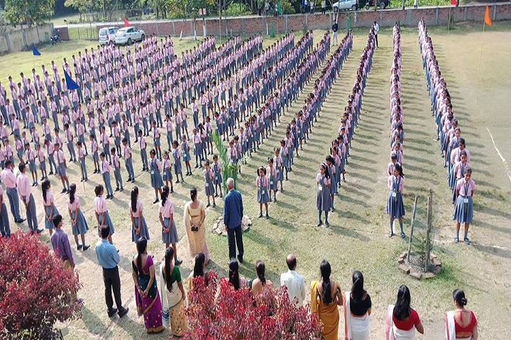 Adarsh Vidyalaya-Assembly