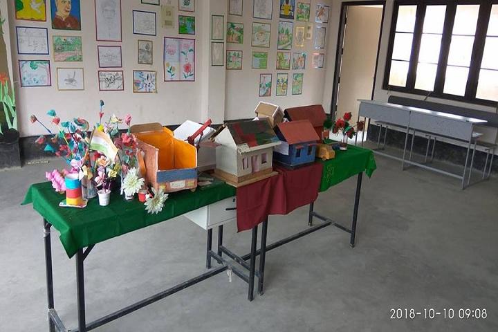 Adarsh Vidyalaya-Science exhibition