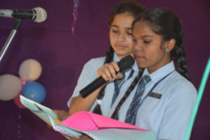 St Annes Convent School-Speech