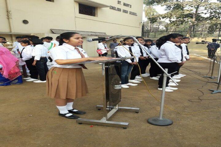St Mary S English High School-Speech