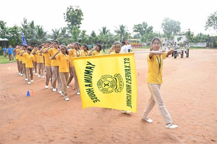 St XavierS High School Deoghar-Independence Day Activities