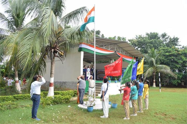 St XavierS High School Deoghar-Independence Day