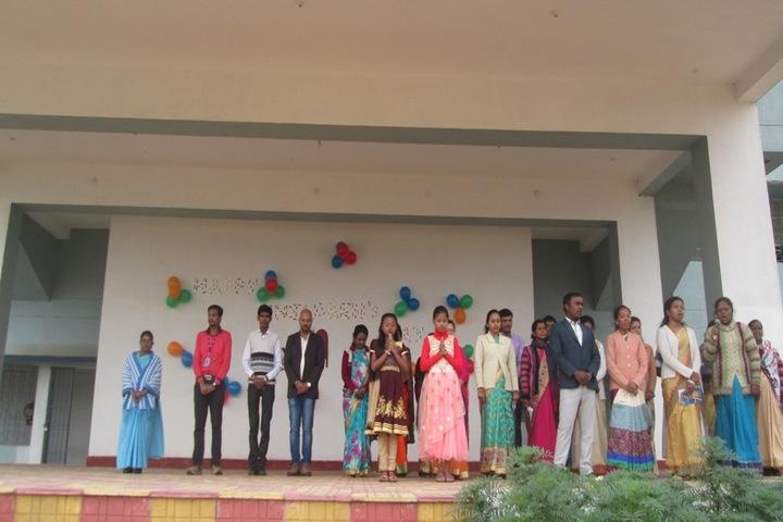 St Aloysius English Medium School-Childrens Day