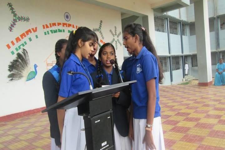 St Aloysius English Medium School-Speech