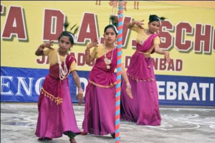 Tata D A V School-Dance