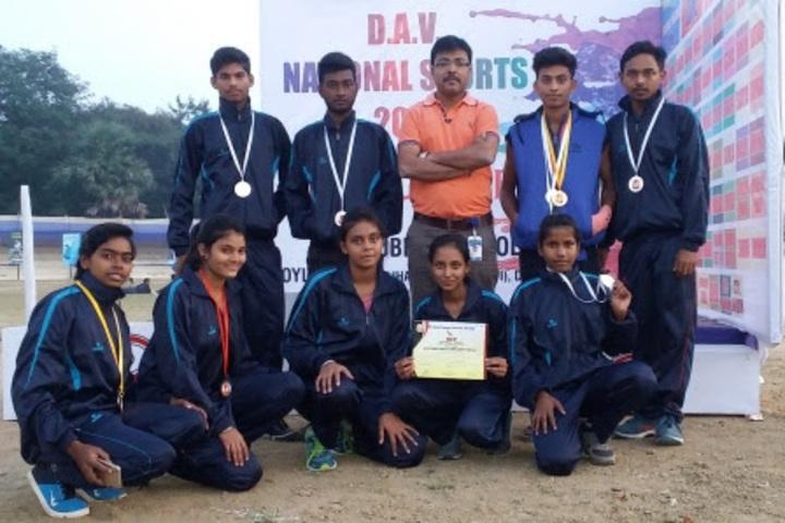 Tata D A V School-Sports Acheivements