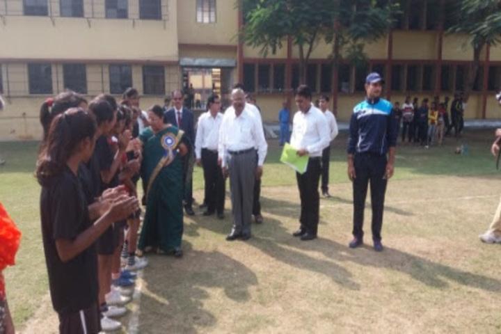 Tata D A V School-Sports Day