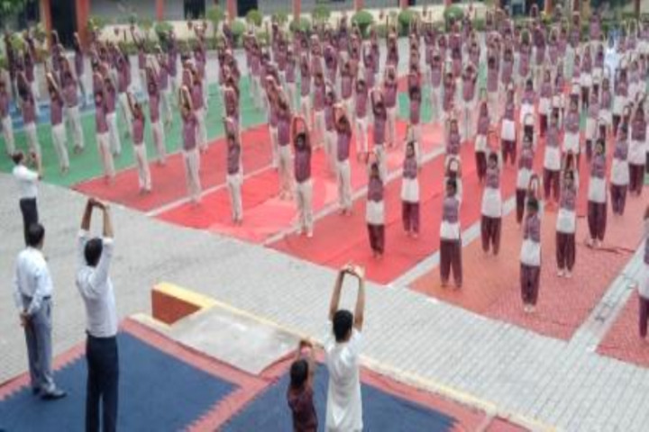 Tata D A V School-Yoga