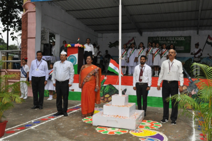 Tata DAV Public School-Independence Day