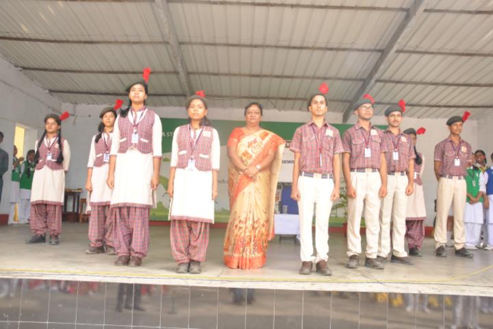 Tata DAV Public School-NCC