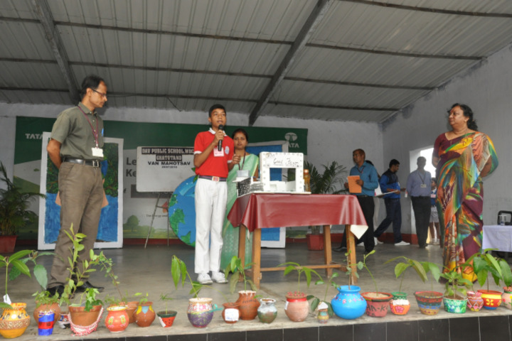 Tata DAV Public School-Speech