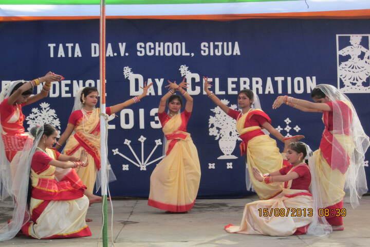 Tata DAV School-Dance Activity