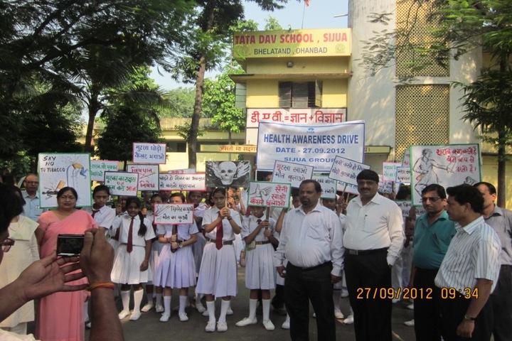 Tata DAV School-Health Programme