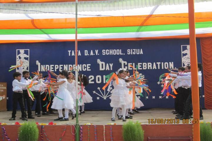 Tata DAV School-Independence Day