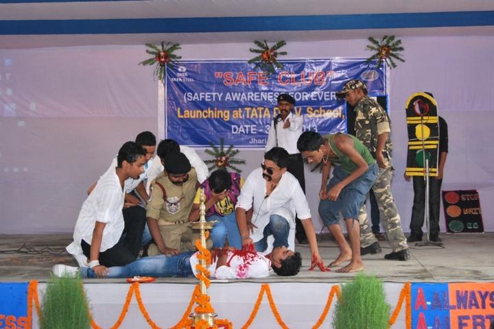 Tata DAV School-Safety Awareness