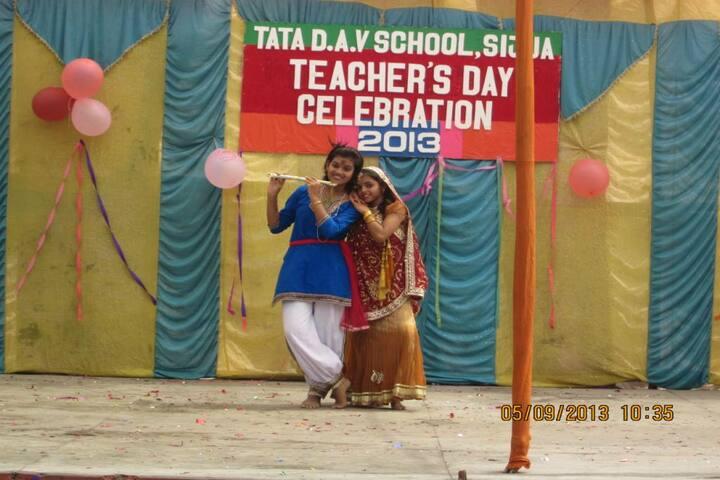 Tata DAV School-Teachers Day