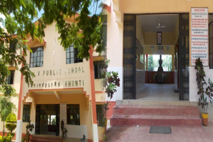 Tci Dav Public School-School Front View