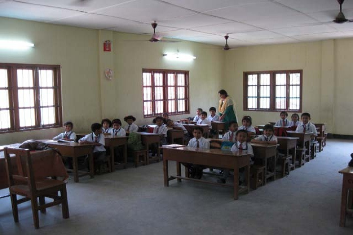 Army Public School-Classroom with teacher