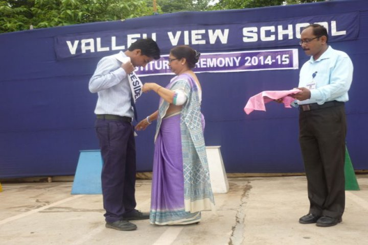 Valley View School-Investure Cermony