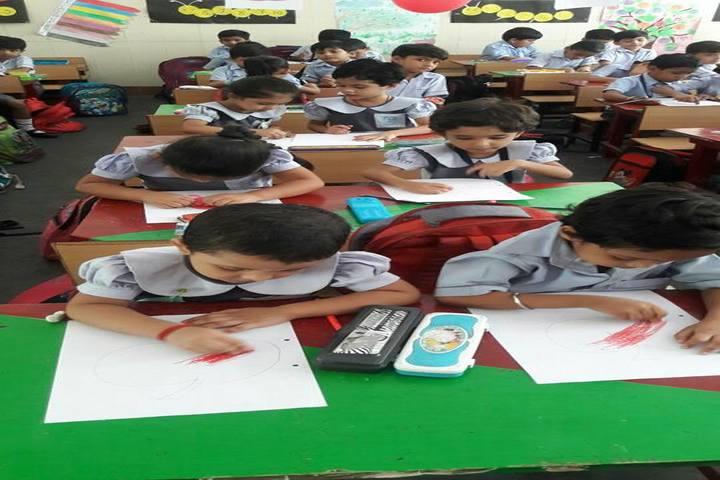 Vidya Bharati Chinmaya Vidyalaya-Classroom