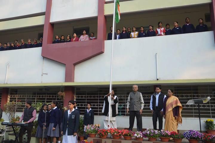 Vidya Bharati Chinmaya Vidyalaya-Independence Day