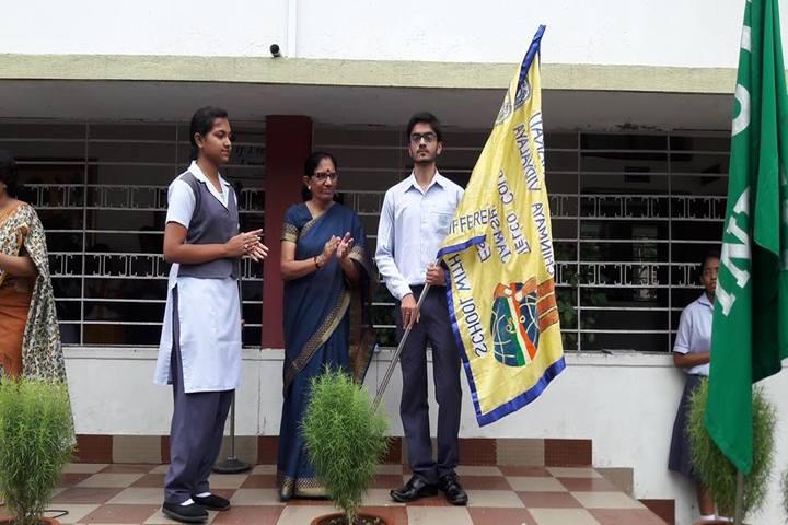 Vidya Bharati Chinmaya Vidyalaya-Investiture Cermony