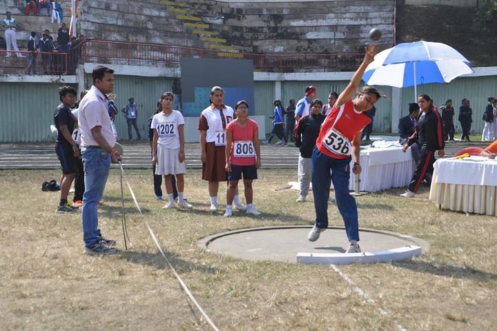 Vidya Bharati Chinmaya Vidyalaya-Throw Ball