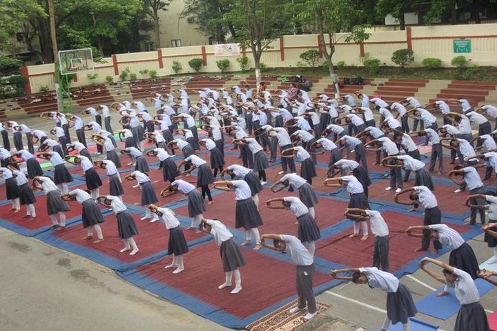 Vidya Bharati Chinmaya Vidyalaya-Yoga