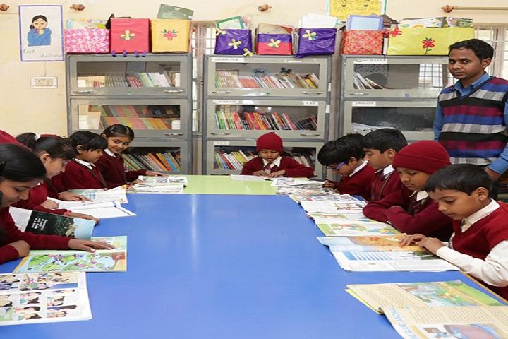 Vidya Vikash Public School-Library