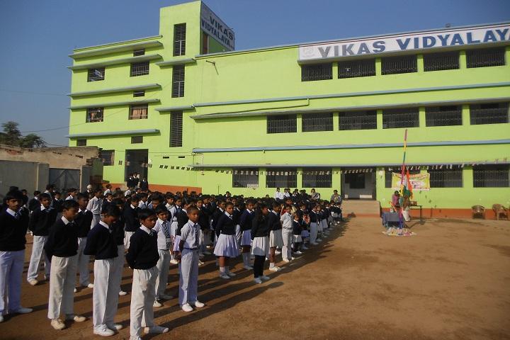 Vikas Vidyalaya-Morning Assembly