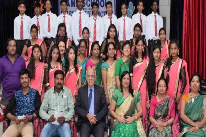A M C School-Students and Staff