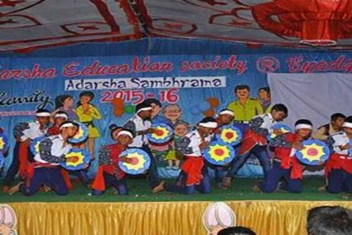 Adarsha Central School-Dances