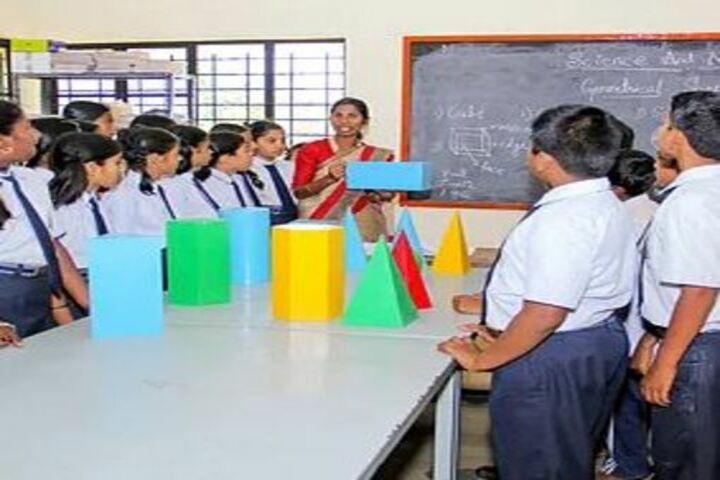 Adarsha Central School-Maths Lab