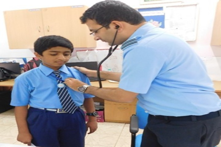 Air Force School-Health Camp