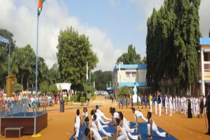 Air Force School-Independence Day Celebrations