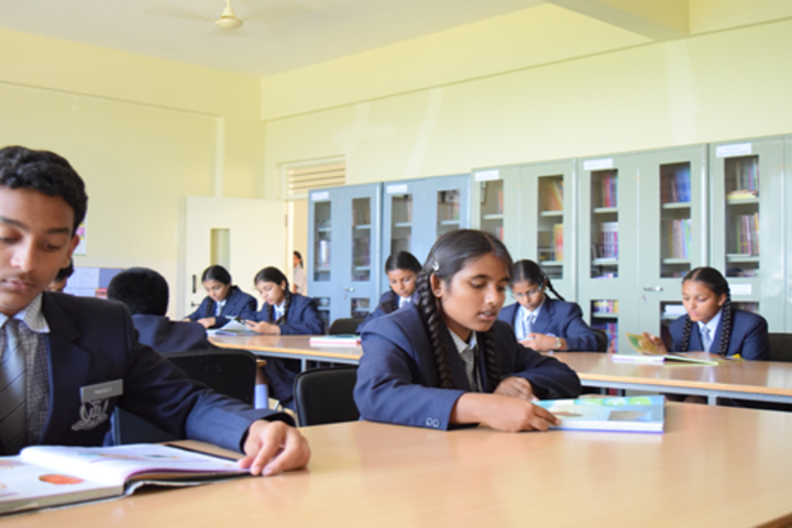Aishwarya International Public School-Library