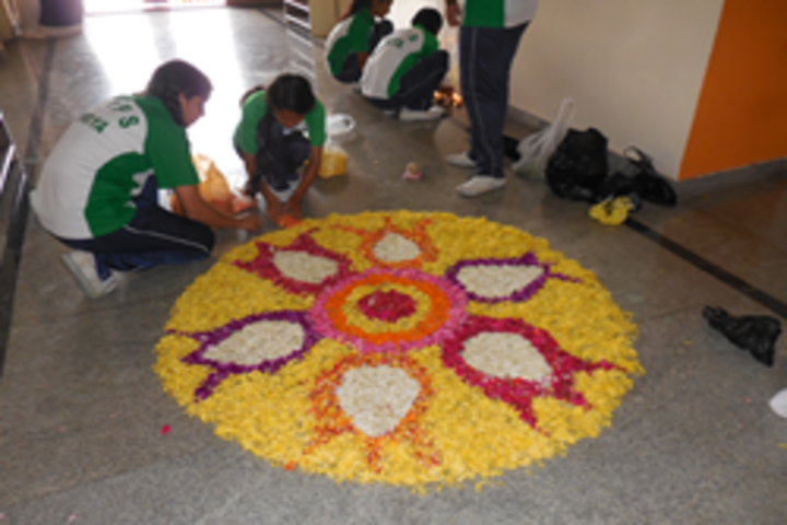 Aishwarya International Public School-Rangoli