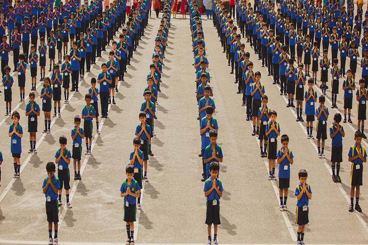 Akash International School-Assembly