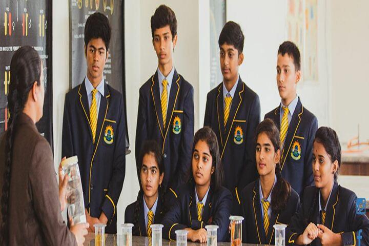 Akash International School-Biology Lab