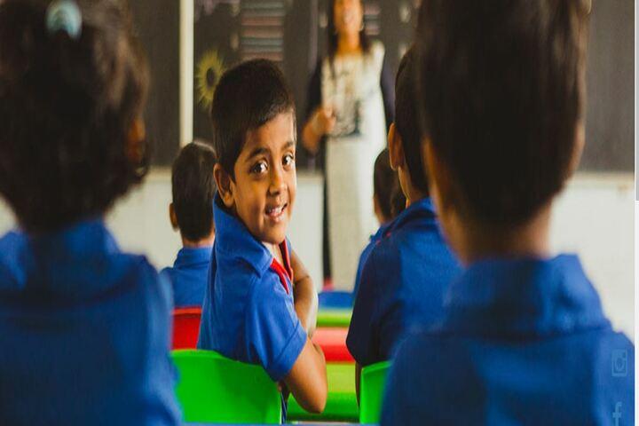 Akash International School-Classrooms